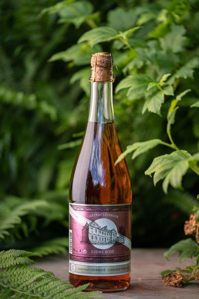 Cidre rosé Château Lezergué